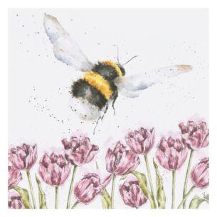 'Flight of the Bumblebee' Bee Card