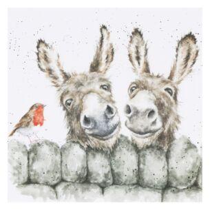 'Hee-Haw' Donkey Card