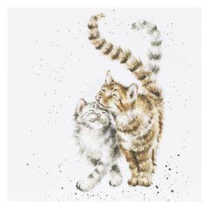 'Feline Good' Cat Card