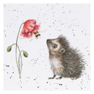 'Busy As A Bee' Hedgehog Card