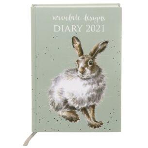 A5 Hardback Desk 2021 Diary