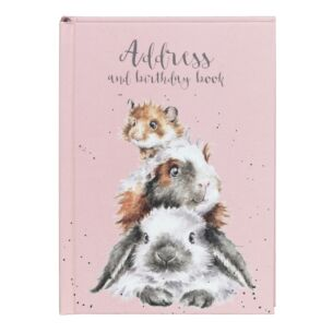 'Piggy in the Middle' Address & Birthday Book