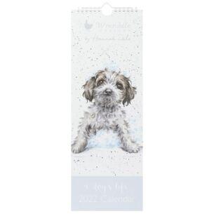 'A Dog's Life' 2022 Slim Calendar