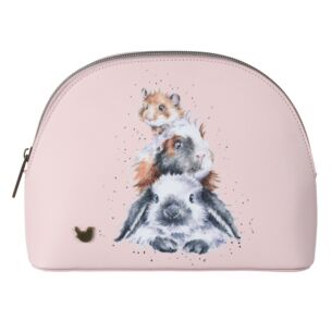 'Piggy In The Middle' Medium Cosmetic Bag