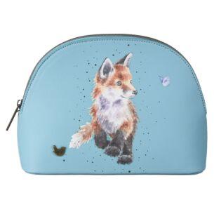'Born To Be Wild' Fox Medium Cosmetic Bag