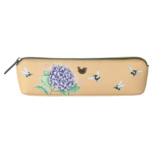 'Hydrangea' Bee Pencil Case/Brush Bag