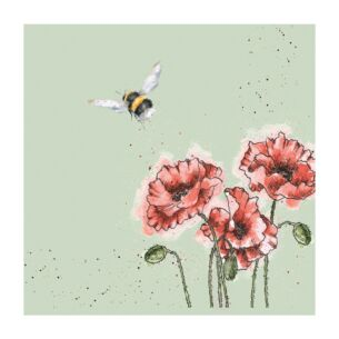 'Flight Of The Bumblebee' Bee Set Of 20 Napkins