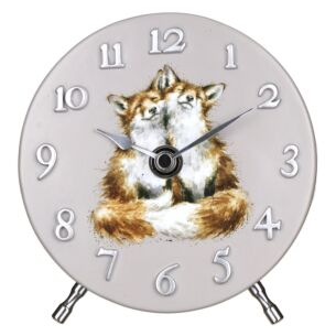 Fox Mantel Clock