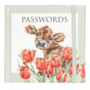 'Bessie' Cow Password Book