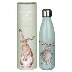 'Hare and the Bee' Hare 500ml Water Bottle