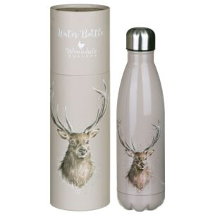'Portrait of a Stag' Stag 500ml Water Bottle