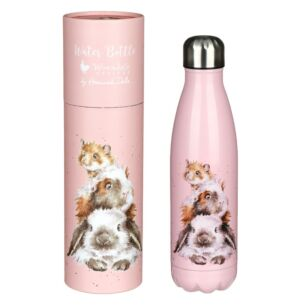 'Piggy in the Middle' Guinea Pig 500ml Water Bottle