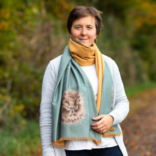 'Awakening' Hedgehog Winter Scarf