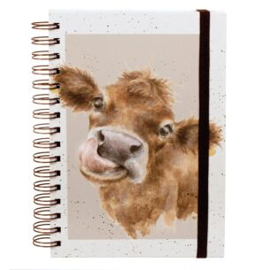 'Moooo' A5 Notebook