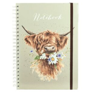 'Daisy Coo' A4 Notebook