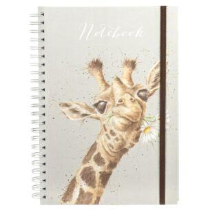 'Flowers' A4 Spiral Bound Notebook