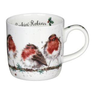 Rockin Robins Mug From Royal Worcester