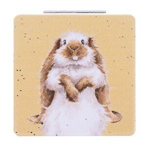 'Earisitible' Bunny Compact Mirror