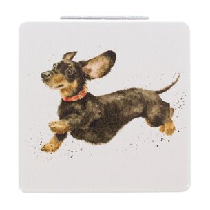 'That Friday Feeling' Dachshund Compact Mirror