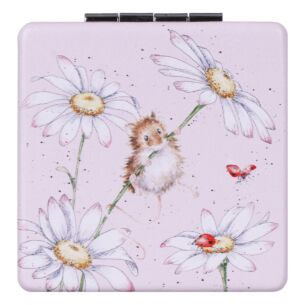 'Oops a Daisy' Mouse Compact Mirror