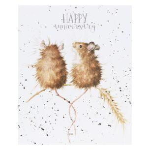 'Anniversary Mice' Anniversary Card