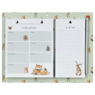 Green Magnetic Weekly Planner and To Do List