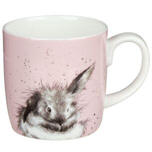 'Bathtime' Large Rabbit Mug From Royal Worcester
