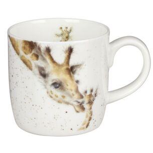 First Kiss Giraffe Mug From Royal Worcester