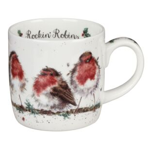 Rockin Robins Mug From Royal Worcester
