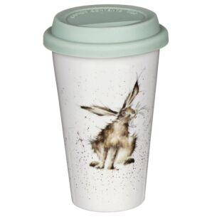 Hare Porcelain Travel Mug from Royal Worcester