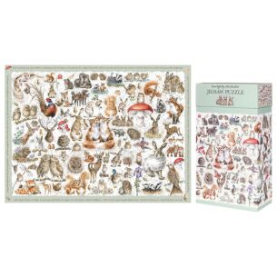 'The Country Set' 1000 Piece Jigsaw Puzzle