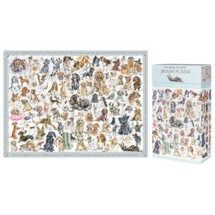 'A Dog's Life' 1000 Piece Jigsaw Puzzle