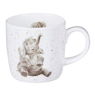 Wrendale Role Model Elephant Mug From Royal Worcester