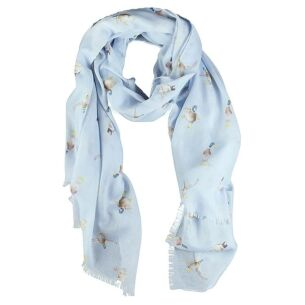 Blue 'Duck' Scarf