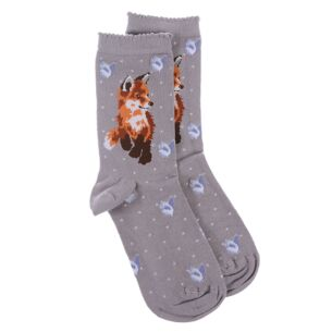 'Born To Be Wild' Fox Socks