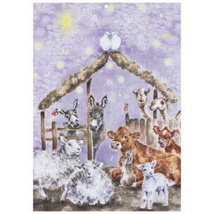 'Away In A Manger' Advent Calendar