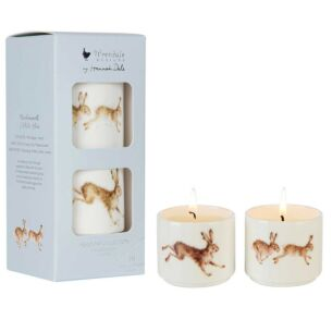 Meadow Set of 2 Ceramic Candles