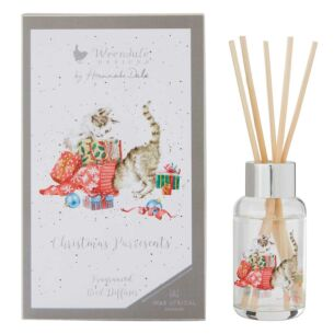 'Christmas Purresents' 40ml Reed Diffuser