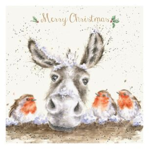The Christmas Donkey Christmas Card