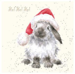 'Ho! Ho! Ho!' Luxury Gold Foiled Christmas Card