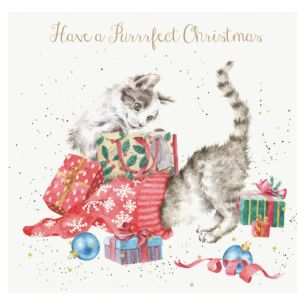 A Purrrfect Christmas Card