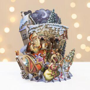 Me & McQ The North Pole 3D Christmas Card