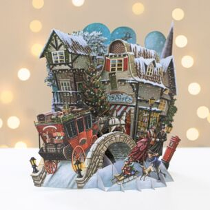 Me & McQ What The Dickens! 3D Christmas Card