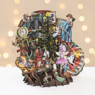 Me & McQ The Nutcracker 3D Christmas Card