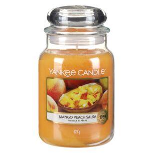 Mango Peach Salsa Large Jar Candle
