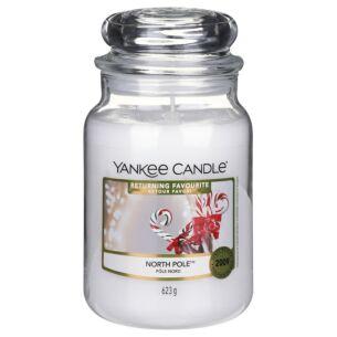 Returning Favourite North Pole Large Jar Candle