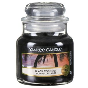 Black Coconut Small Jar Candle
