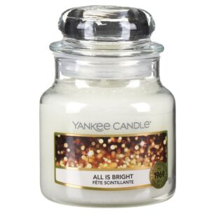 All Is Bright Small Jar Candle