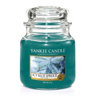 Icy Blue Spruce Medium Jar Candle