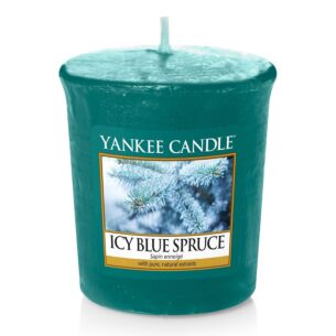 Yankee Candle Icy Blue Spruce Sampler Votive Candle